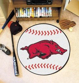Fan Mats Razorback Baseball Floor Mat - DS