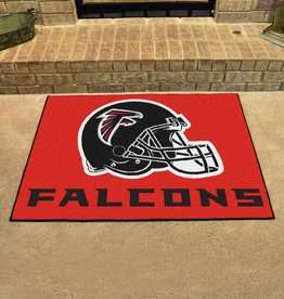 Fan Mats NFL Atlanta Falcons Red All Star Mat - DS