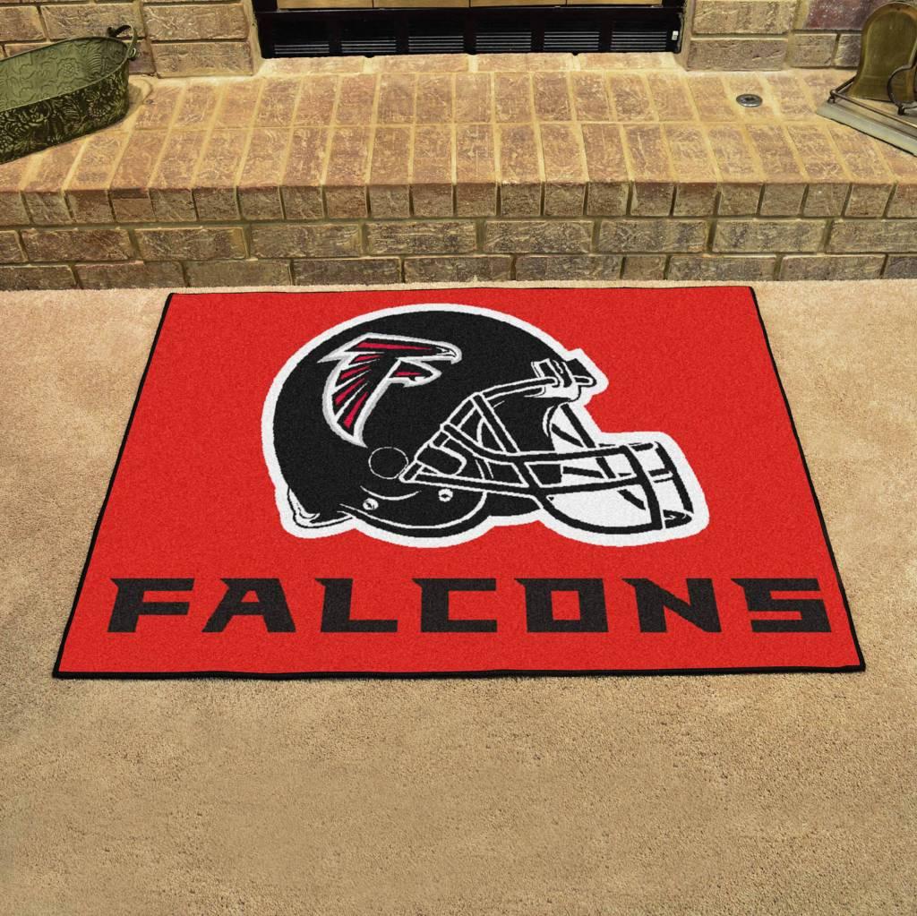 Nfl Atlanta Falcons Red All Star Mat The Stadium Shoppe On Razorback