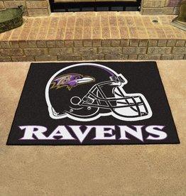 Fan Mats NFL Baltimore Ravens All Star Mat - DS