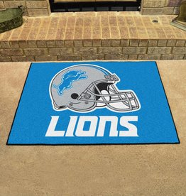 Fan Mats NFL Detroit Lions All Star Mat - DS