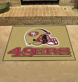 Fan Mats NFL San Francisco 49ers All Star Mat - DS