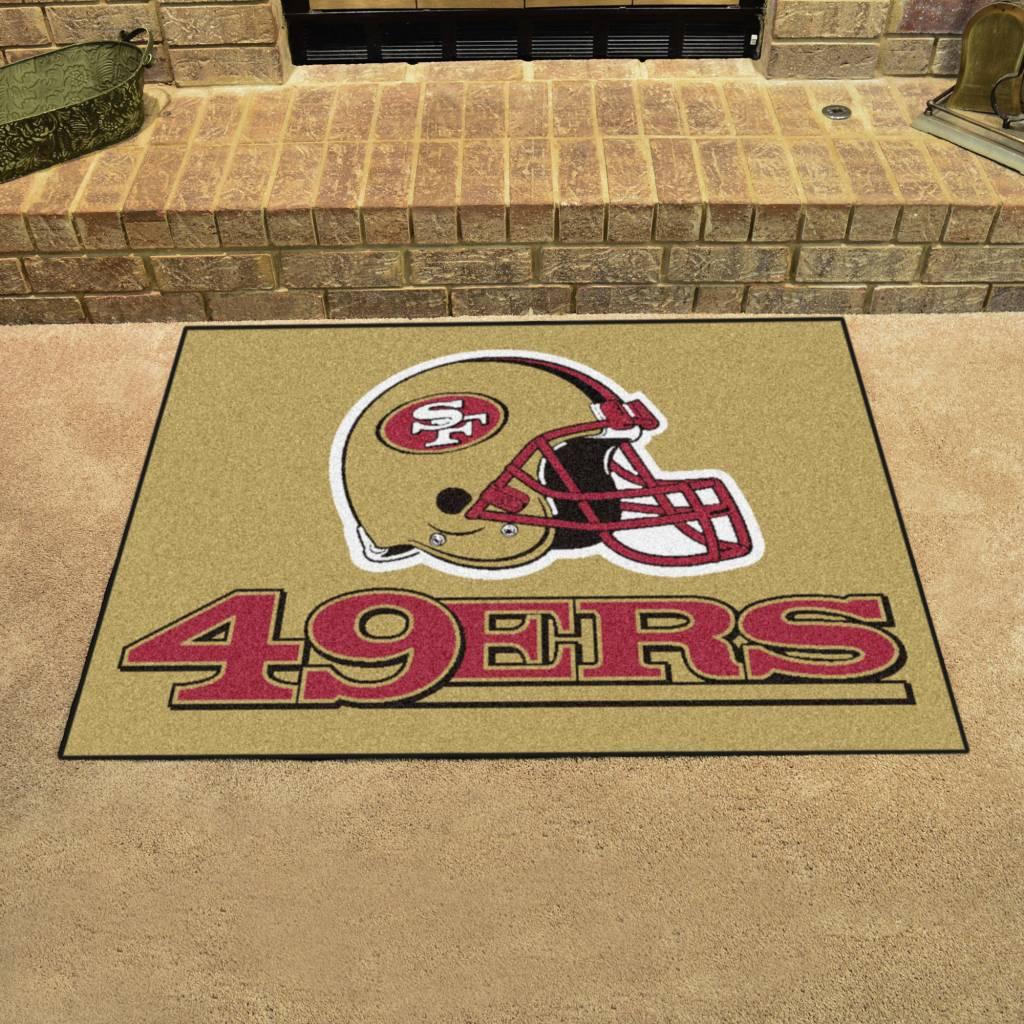 Fan Mats NFL San Francisco 49ers All Star Mat
