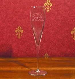 Campus Crystal Crystal Toasting Glass Etched U of A