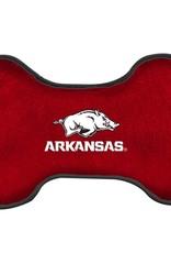 All Star Dog Arkansas Razorback Dog Bone Squeak Toy