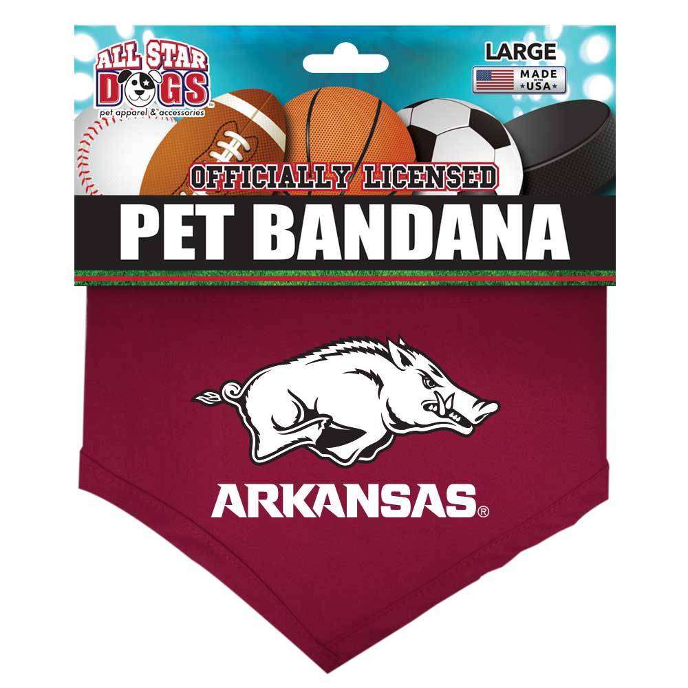 All Star Dog Razorback Pet Bandana