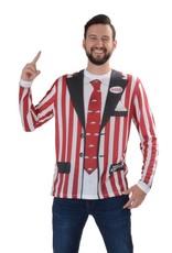 Faux Real Razorback Stripe Suit Long Sleeve Tee