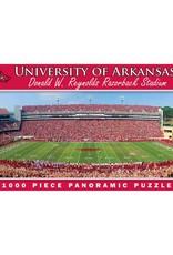 Leanin' Tree Razorback Stadium Panorama Puzzle