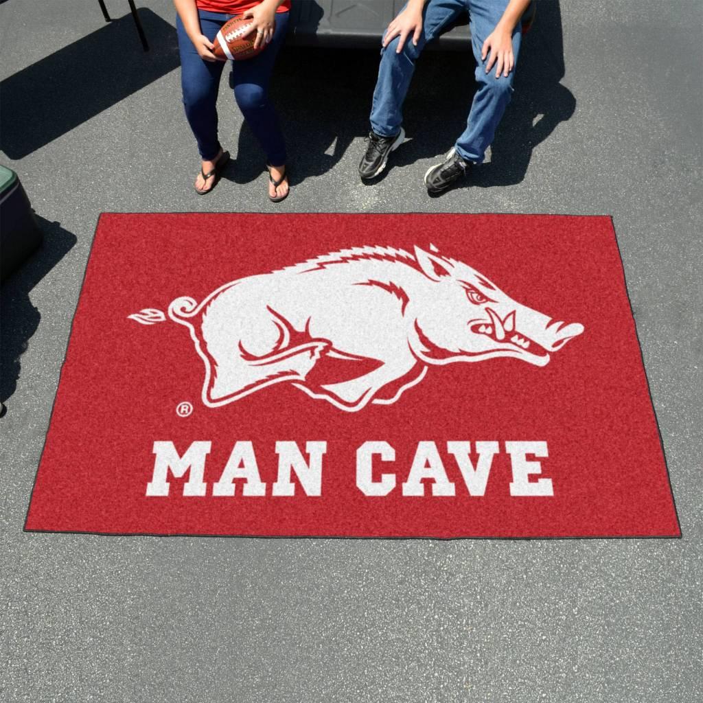 Fan Mats Razorback 5X6 Man Cave Mat
