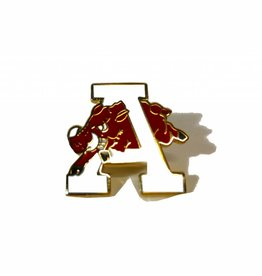 Lloyd Sales Retro Hog Through the A Lapel / Hat Pin
