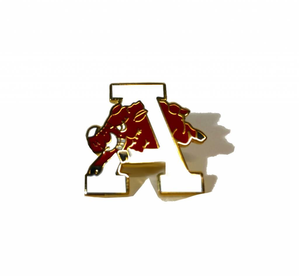 Lloyd Sales Retro Hog Through the A Lapel / Hat Pin