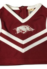 Little King Arkansas Razorbacks Cheerleader Outfit