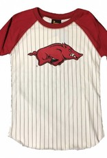 Little King Arkansas Razorback Youth Baseball Tee