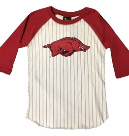 Little King Razorback Youth Baseball Tee