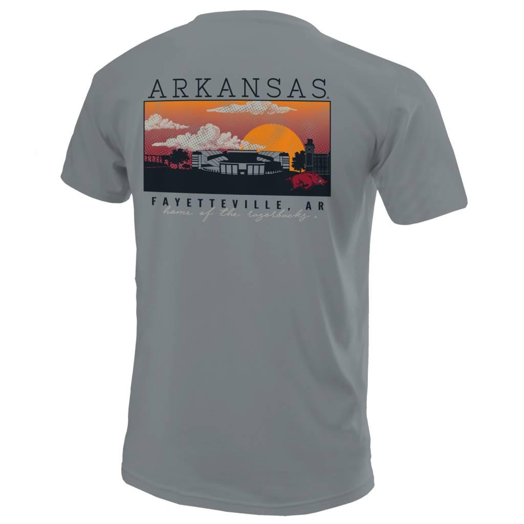 Comfort Colors University of Arkansas Campus Scene