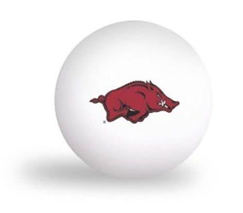 Arkansas Razorback Ping Pong Balls