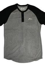 Levelwear Razorback Baseball Short Sleeve Henley