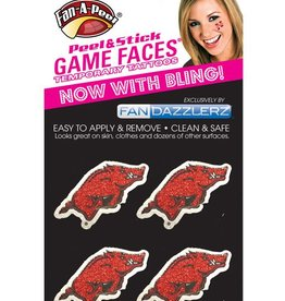 Game Faces Glitter Face Bling Tattoo Fandazzlers