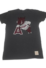 Retro Brands Razorback Retro Hog Leaning On A Retro Slub Tee