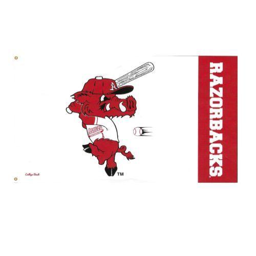 Wincraft Arkansas Razorback Ribby 3X5 Flag