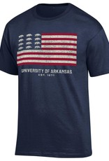 Champion Arkansas Razorback Flag Tee