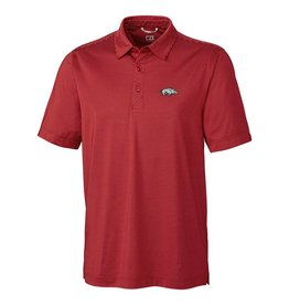 Cutter & Buck Arkansas Razorback Prevail Polo By Cutter & Buck