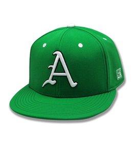The Game Razorback Baseball Flat Bill Stretch Fit Hat
