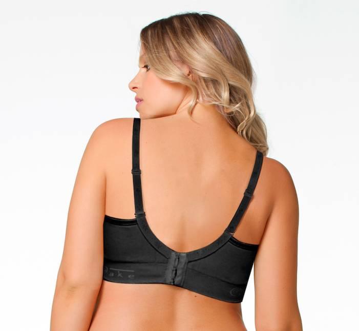 Rock Candy Black non-wire seamless bra