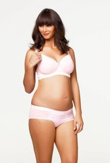 Cake Cake Lingerie Rose Mousse Non-wire T-shirt nursing maternity bra A cup to E cup