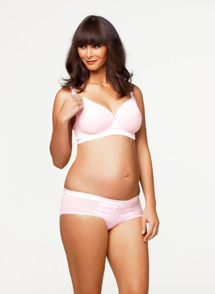 Cake Lingerie Rose Mousse Non-wire T-shirt nursing maternity bra A cup to E cup