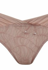 Cache Coeur Magic maternity brief in Petal
