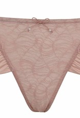 Cache Coeur Magic maternity shorty in Petal
