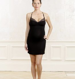 Serenity nightdress in Black