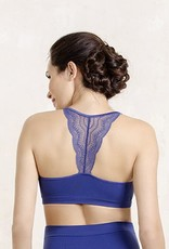 Cache Coeur Cache Coeur Serenity lace maternity nursing bralet in Royal Blue