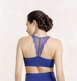 Serenity lace bralet in Royal Blue B cup to F cup