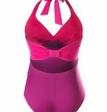 Cache Coeur Cache Coeur Eden maternity swimsuit in Fuchsia
