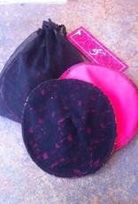 June & Dane June & Dane Cotton Washable Nursing Pads - Cabaret with Black Lace