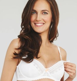 Cupcake White flexiwire bra - C cup only