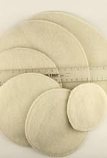 Merino Wool Nursing Pads - Extra thickness