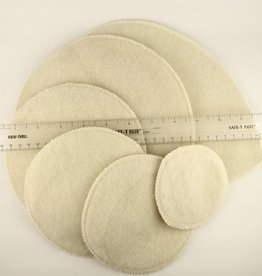 Merino Wool Nursing Pads - Extra thickness