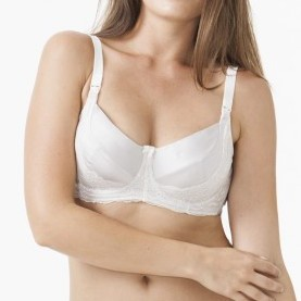 Amoralia Amoralia Allure Pearl removable Flexi-wire nursing bra B cup to C cup