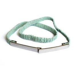 Seraphine Bobbie Leather stretch maternity belt