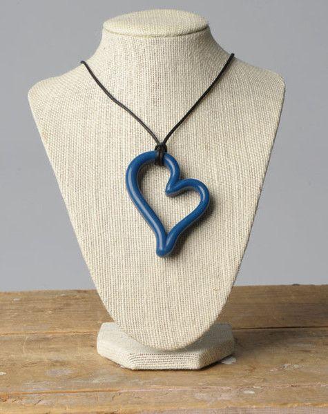 Teethease Teethease Heart Pendant Nursing Necklace