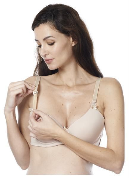 Noppies Honolulu Natural padded nursing bra