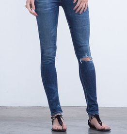 Citizens of Humanity Distressed Skinny maternity jean