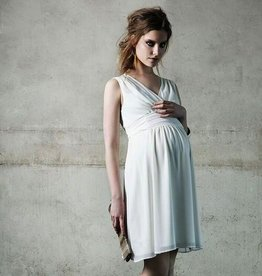 Noppies Liane Ivory chiffon maternity dress