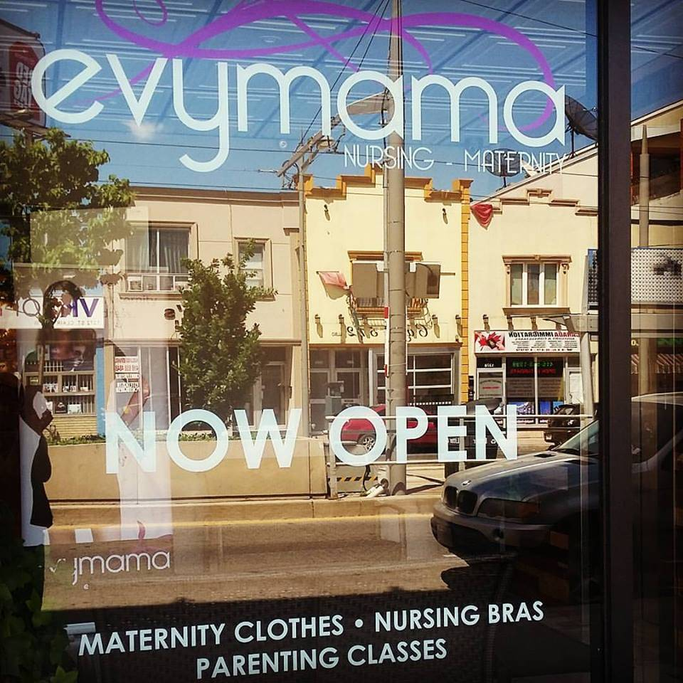 Evymama Grand Opening Saturday, September 10th 1345 St. Clair Avenue West, Toronto