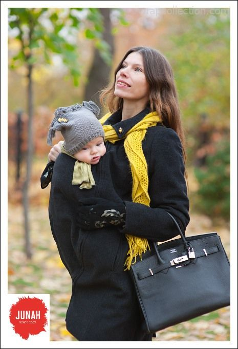 junah wool babywearing maternity duffle coat evymama. Black Bedroom Furniture Sets. Home Design Ideas