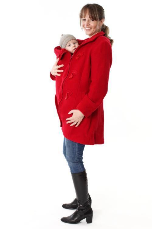 Junah Wool Babywearing & Maternity Duffle Coat