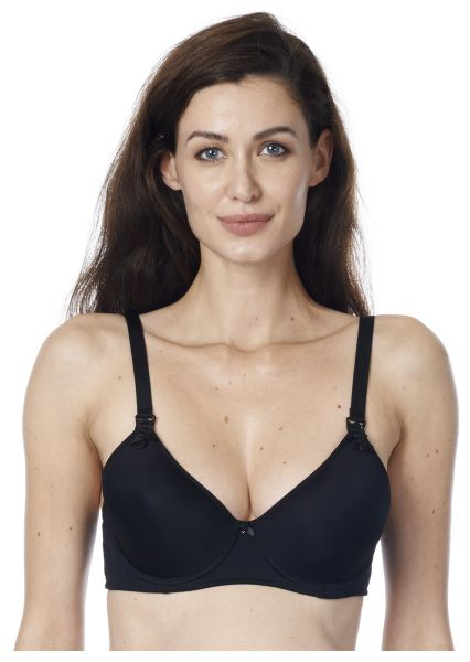 Honolulu Black seamless underwire bra
